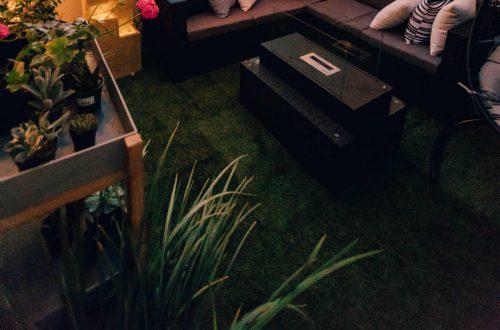kunstgras mooie tuin