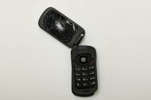 kapotte telefoon
